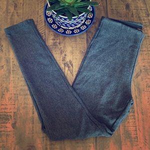 Zara basic gray leggings pants